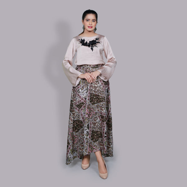 SKIN EMBROIDERED TOP (SSP2102TU36)