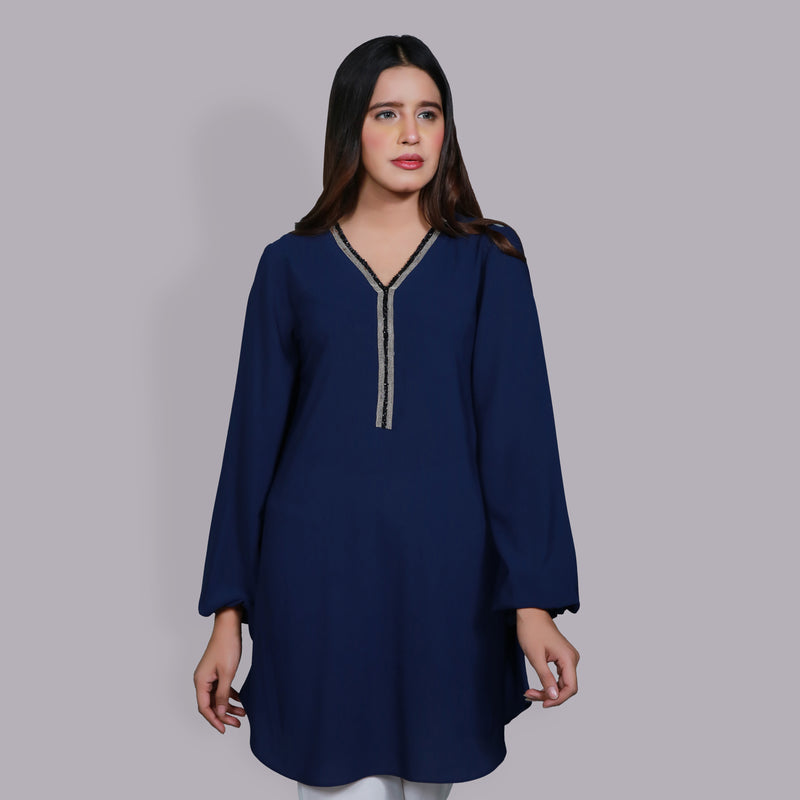 NAVY DRESS (SE12104DR38)