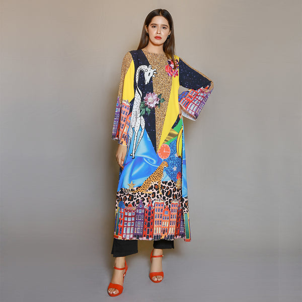 DIGITAL PRINTED MAXI DRESS (SE22007MD12)
