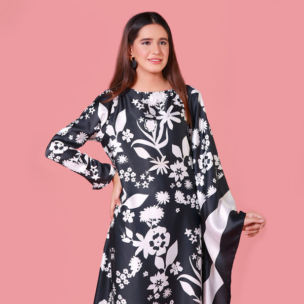 BLACK DIGITAL PRINTED MAXI (SWI2010MD16)