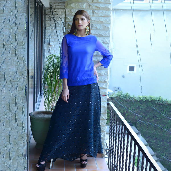 BLUE NET TOP (SSP2101TU16)