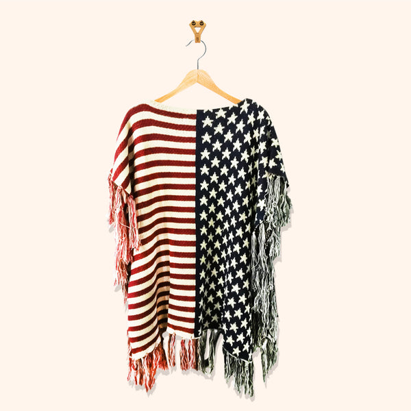 USA PRINTED CARDIGAN