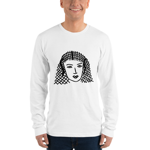 Sis Character Long Sleeve Unisex Tee (Black Graphic)