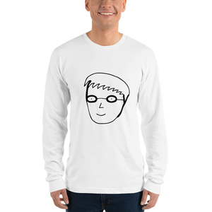Boy 3 Character Long Sleeve Unisex Tee