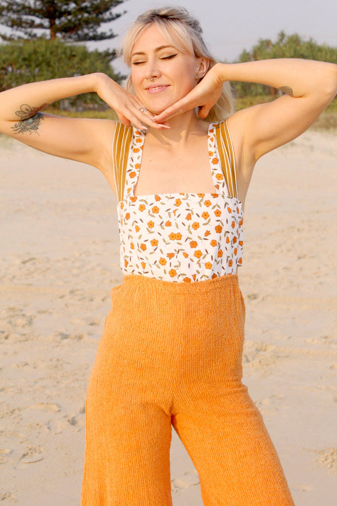 Orange Blossom Jenni Jumpsuit