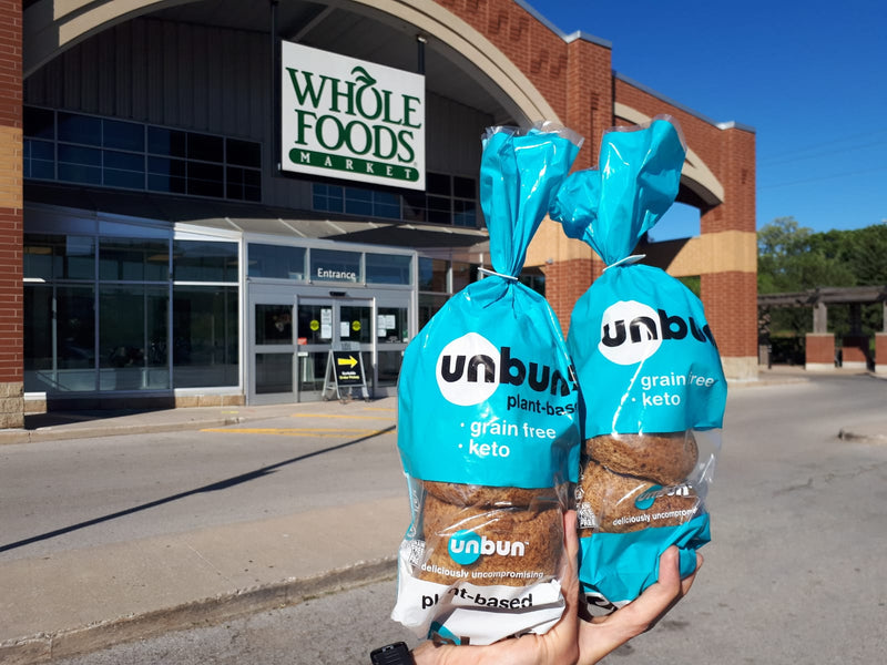 Unbun is at Whole Foods Markets across the United States!