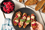 UnBaguette Crostini with Brie & Cranberry