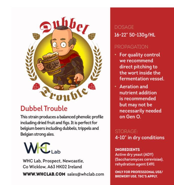 Dubbel Trouble Dried Yeast (500g)
