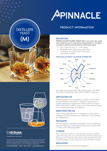 Pinnacle M - Distillers Yeast