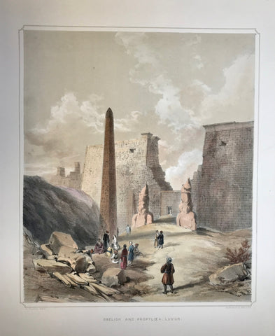 Archeology, City Views, Luxor, Obelisk and Propyloea