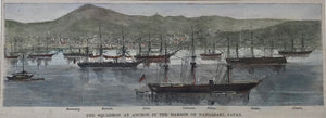 City Views, Japan, The Squadron, Harbor of Nagasaki