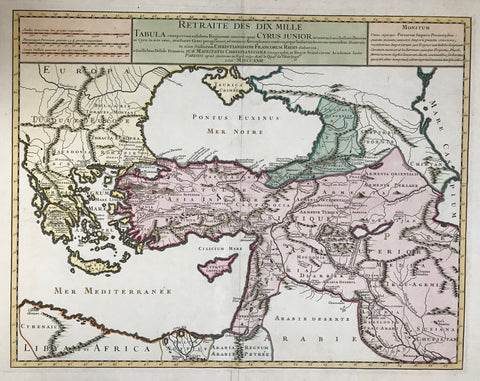 Maps, Turkey, Greece, Armenia, Cyprus, the Near and Middle East, Mesopotania
