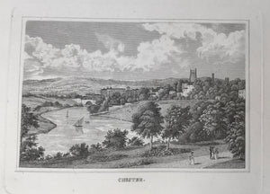 Chester  Steel engraving 1837.
