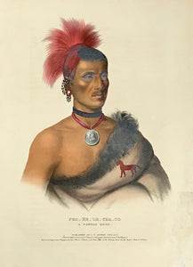 Indegenous Peoples, Pes-Ke-Le-Cha-Co. A Pawnee Chief