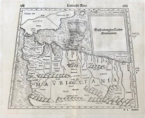 Maps, Map of northern Africa