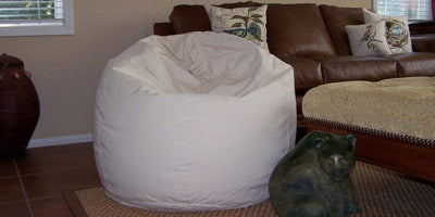 Organic Cotton, Hemp and Regular Cotton Bean Bag Chairs