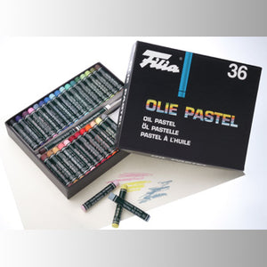 Filia Pastel Oil Crayons - 36 assorted colors