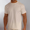Men's Organic Cotton Crew T-Shirts - S, M, L, XL