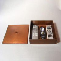 Roycroft-style Copper TV Remote Box
