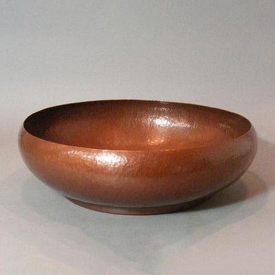 Large Copper Centerpiece Bowl