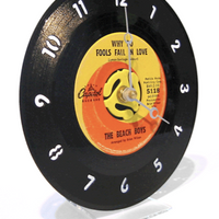 45 RPM Desk Clock