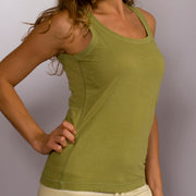 Organic Cotton O'Neck Tank Top - S, M, L