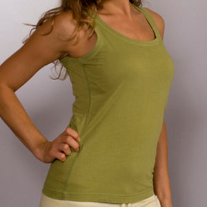 Organic Cotton O'Neck Tank Top - Size Large