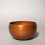 Copper Flower Bowl