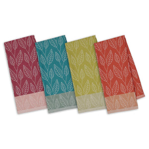 Leaf Organic Cotton Kitchen Towels