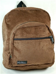 Hemp Corduroy Mini Backpack