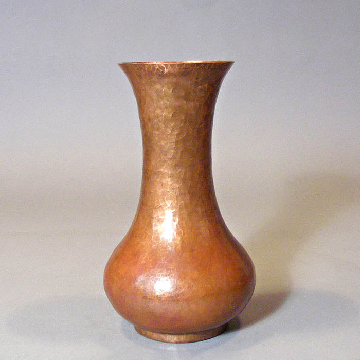 Mission-style Copper Vase