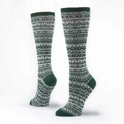 Organic Wool & Cotton Knee Hi Socks