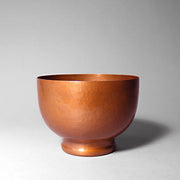 Hand-hammered Copper Cachepot Planter