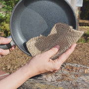 Organic Cotton & Jute Scrubbers Set - One of each