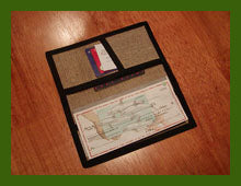 Hemp Checkbook Cover