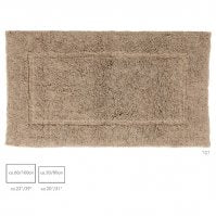 Luxury Environmentally Friendly Small Cotton & Linen Rugs Without Dyes