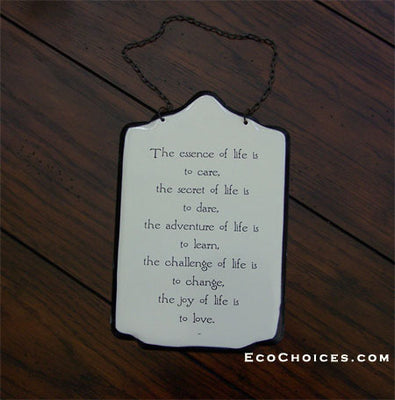 Sign: Essence Of Life...