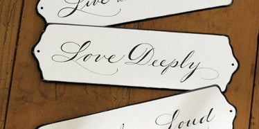 Sign: Love Deeply