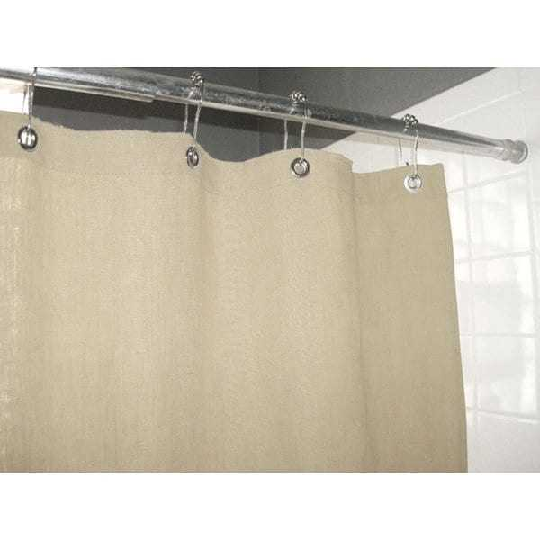 Natural Hemp Shower Curtain