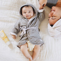 Organic Cotton Baby Bathrobe