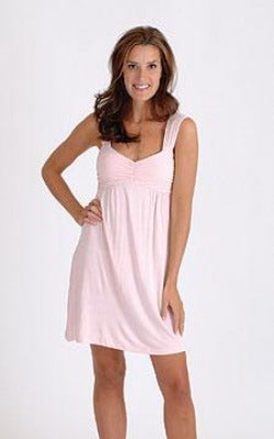 Bamboo Soft Pink Cleo Gown