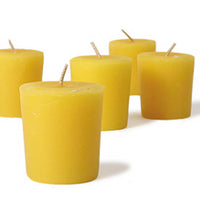 Natural Beeswax Votives