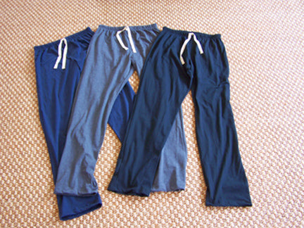 Men's Organic Cotton Pajama Lounge Pant - Size Small (26-28 waist)
