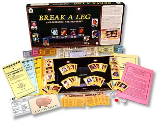 Break A Leg Board Game