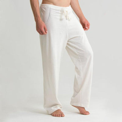 Men's Organic Cotton Drawstring Lounge Pants - S/M, L/XL, 2XL/3XL