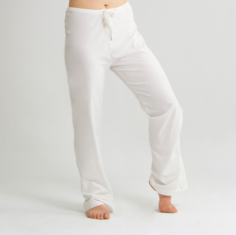 Women's Organic Cotton Drawstring Lounge Pants