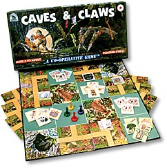 Caves And Claws Board Game