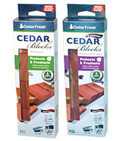 Real Natural Cedar Blocks, Rings, Rolls, Spray & Cedar Hangers