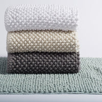 Pebbled Chenille Organic Bath Rug