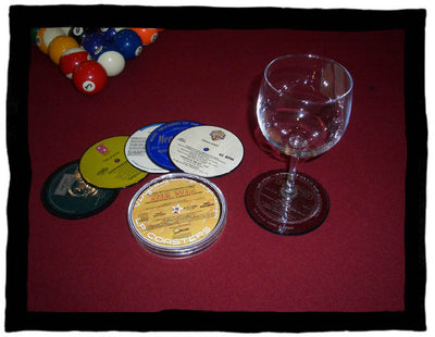 Record Label Drink Coaster Set